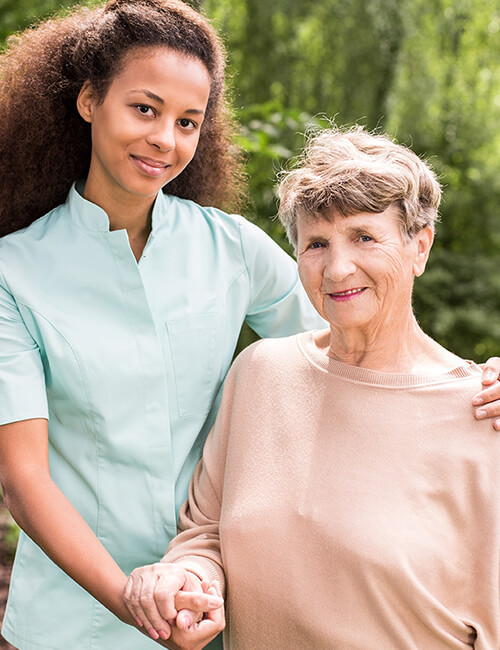 Happy Quest Home Care - caregiver and elderly